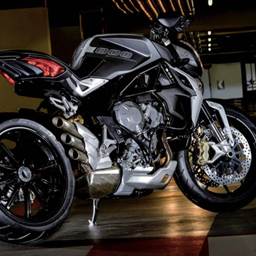 MV AGUSTA BRUTALE 800 DRAGSTER OPEN DAYS, 22ND AND 23RD MARCH 2014