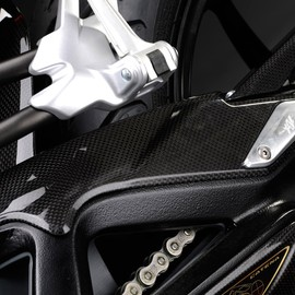 Swingarm cover carbon fiber