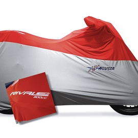 Bike cover embroidered Red/Silver Rivale MV Agusta