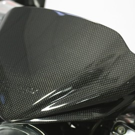 Dash cover carbon fibre