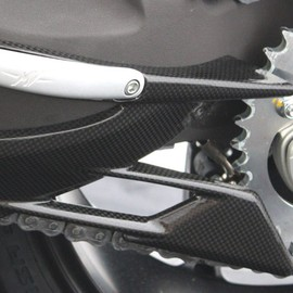 "Lower chain guard ""std"" carbonfibre"