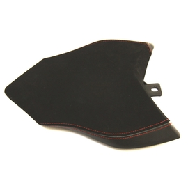 Seat passenger no-slide leather / neoprene black