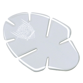 Fuel tank sticker transparent
