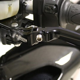 Fold up clutch lever EV1 black