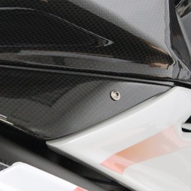 Air box cover carbon fiber (left)