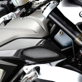 Air box cover carbon fiber B3 (right)