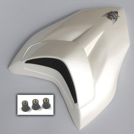 Rear seat cover in fiberglass white painted