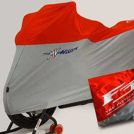 Bike cover embroidered Red/Silver MVAgusta F3
